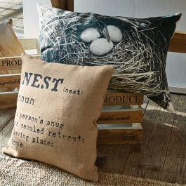 Kissen 2er Set Nest