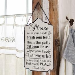 Dekoboard Bathroom Rules