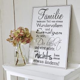 Dekoboard Family Love