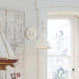 Wandlampe Sidney antikweiss