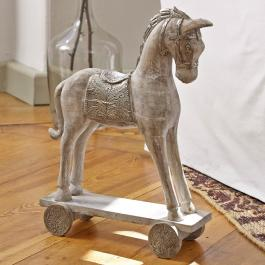 Deko-Pferd Hennes