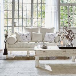 Sofa Douville antikweiss