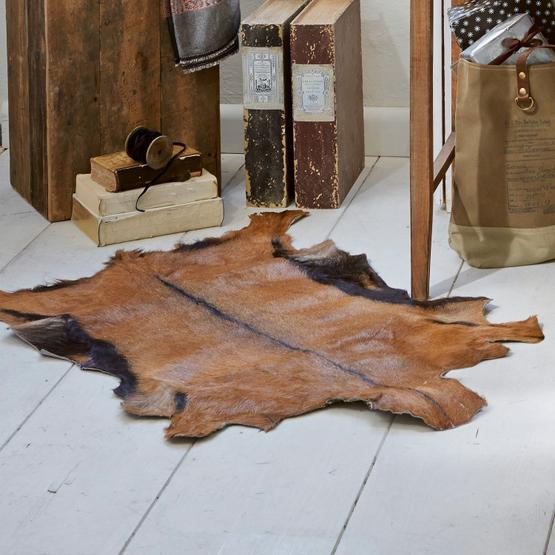 Ziegenfellteppich Piedro