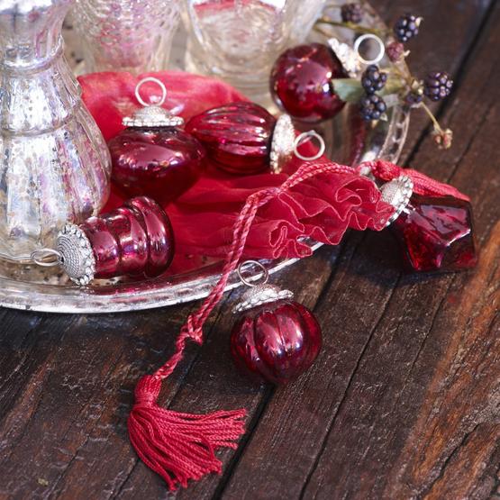 Weihnachtsschmuck 6er Set Levier