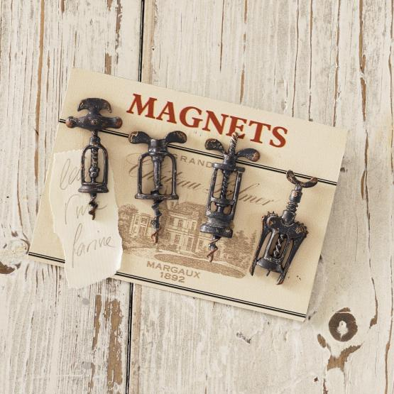 Magnete 4er Set Corkscrew