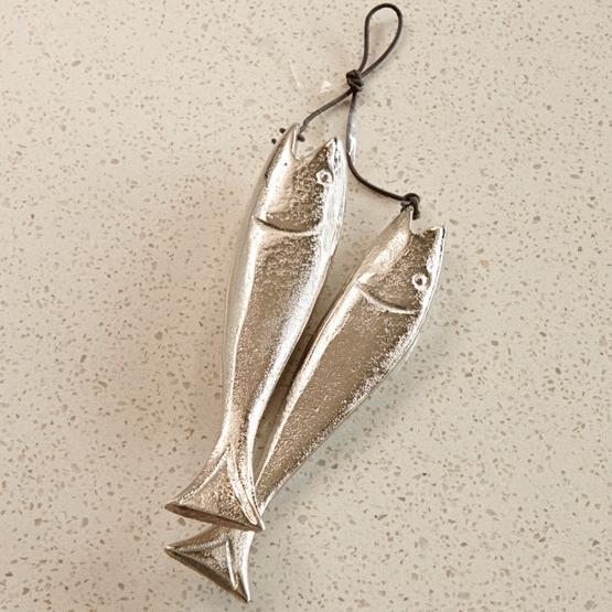 Deko-Fische 2er Set Sardine's