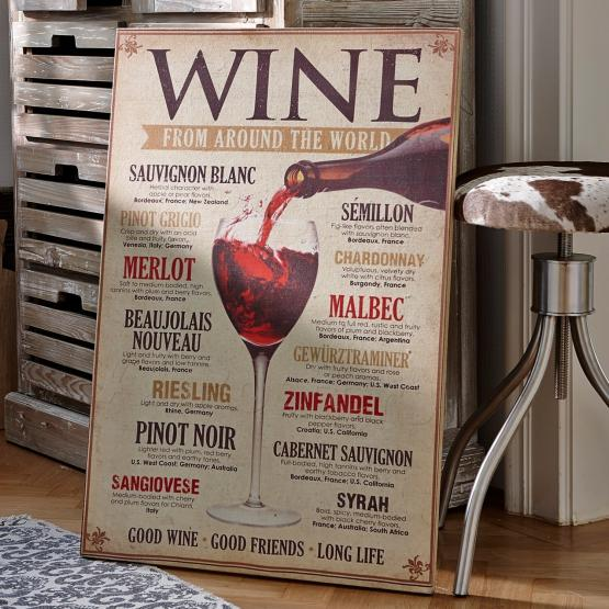 Dekoboard Winecard