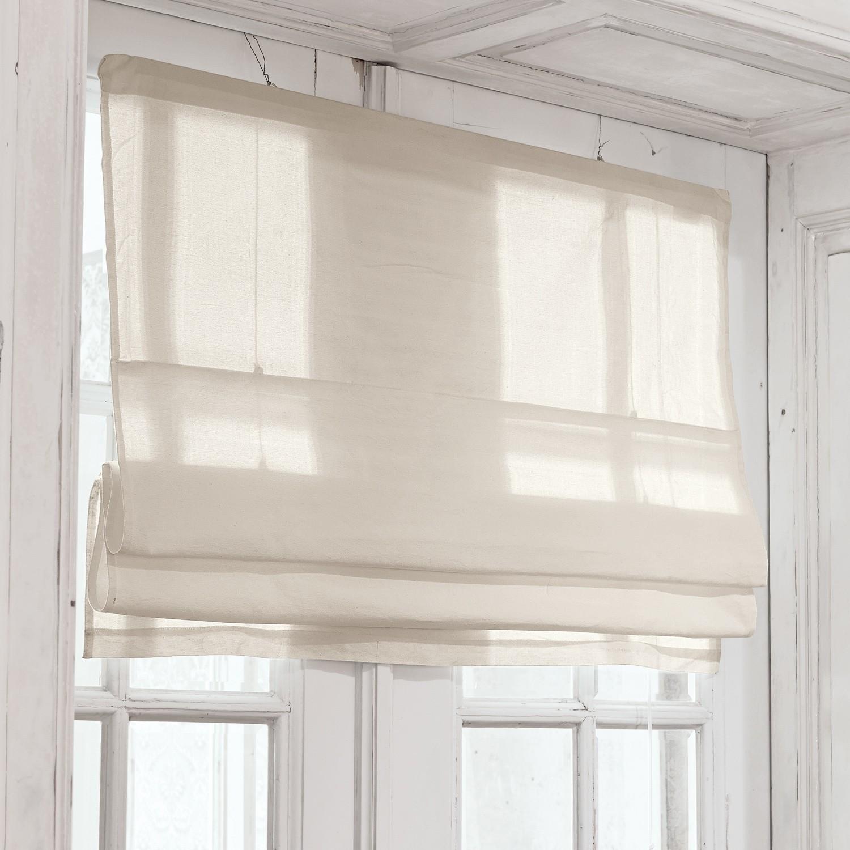 faltrollo fides leinen loberon. Black Bedroom Furniture Sets. Home Design Ideas