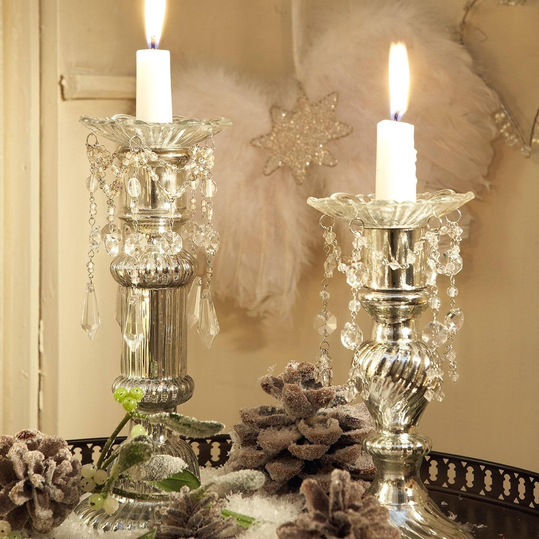 kerzenteller 2er set aurelia loberon. Black Bedroom Furniture Sets. Home Design Ideas