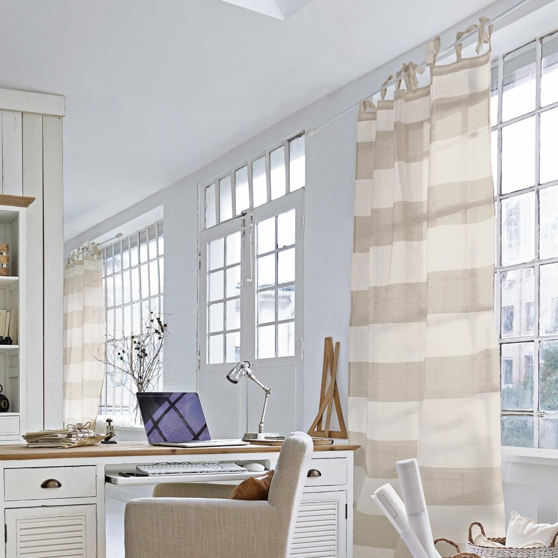 gardine mierta creme wei loberon. Black Bedroom Furniture Sets. Home Design Ideas