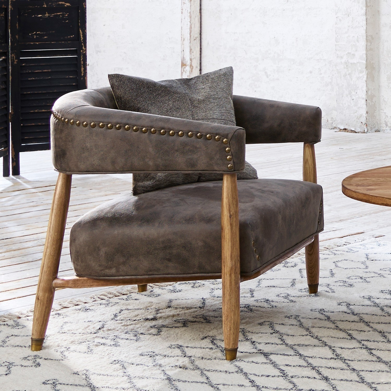 sessel towson braun loberon. Black Bedroom Furniture Sets. Home Design Ideas