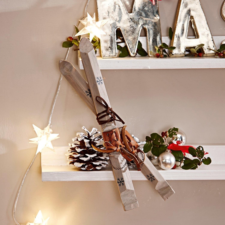deko skier 2er set st moritz wei loberon. Black Bedroom Furniture Sets. Home Design Ideas