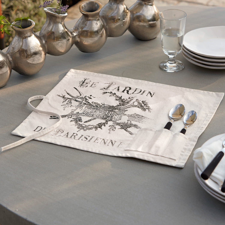platzset 2er set le jardin loberon. Black Bedroom Furniture Sets. Home Design Ideas