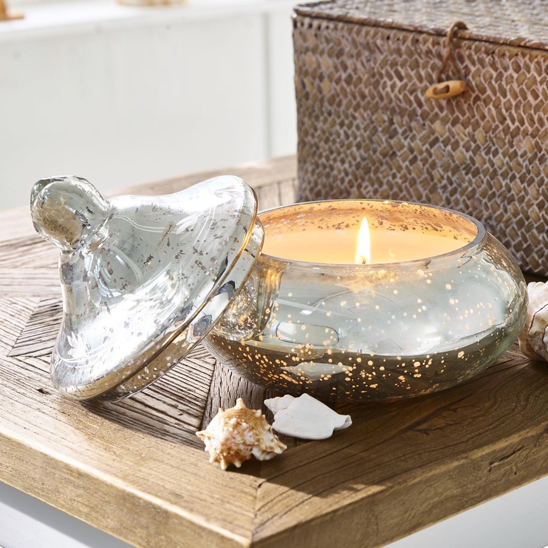 Windlicht Mit Kerze Amira Loberon