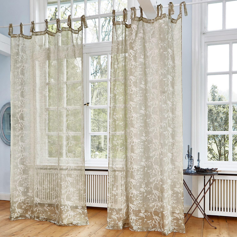 gardine maidolen loberon. Black Bedroom Furniture Sets. Home Design Ideas