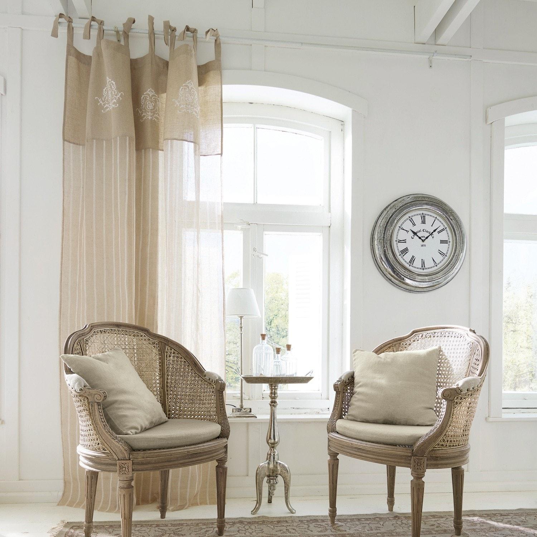 gardine calais 300 140 cm loberon. Black Bedroom Furniture Sets. Home Design Ideas