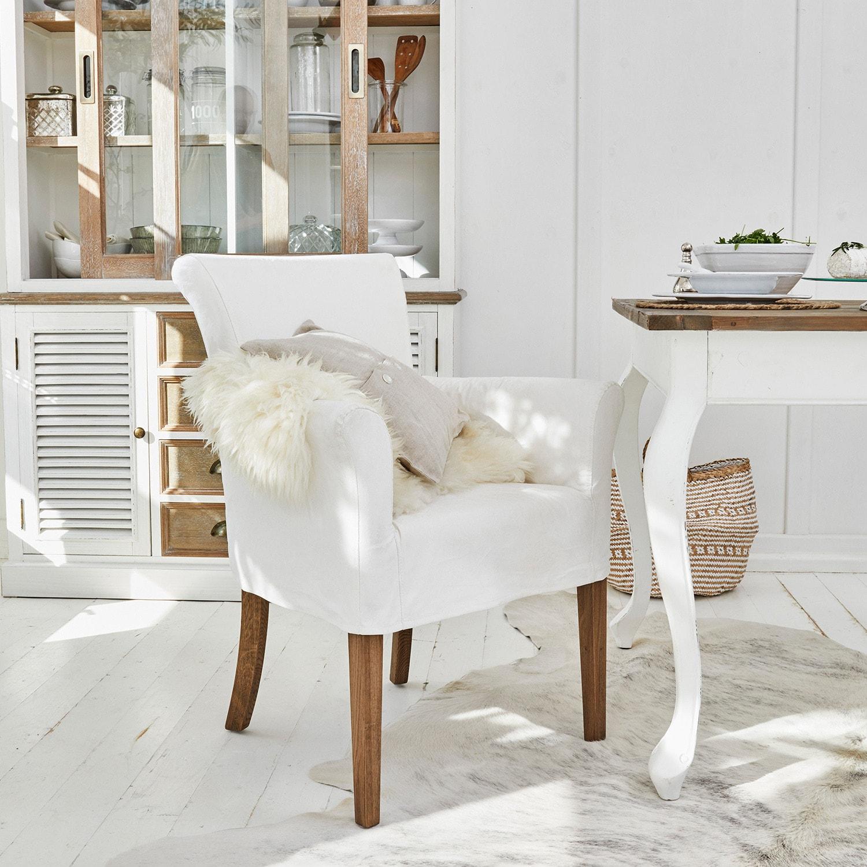 sessel amherst wei loberon. Black Bedroom Furniture Sets. Home Design Ideas