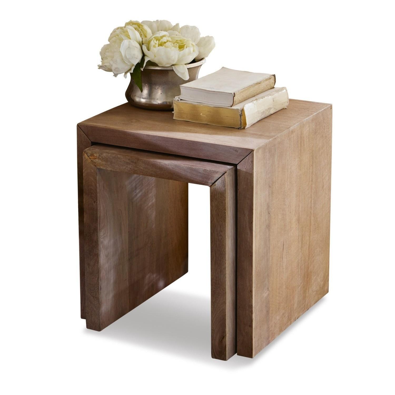 beistelltisch 2er set hadley loberon. Black Bedroom Furniture Sets. Home Design Ideas